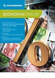 Revidert kalkulasjonsrente for statlige tiltak - Samfunnsøkonomene