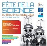 programme - Sciences Essonne