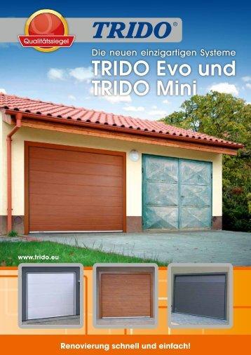 TRIDO Evo und TRIDO Mini - Garážová vrata Trido