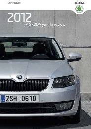 A ?kodA year in review - Skoda Auto