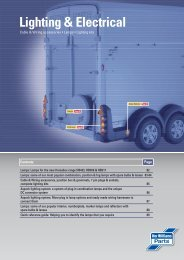 Lighting & Electrical - DUNCAN McINTOSH TRAILERS