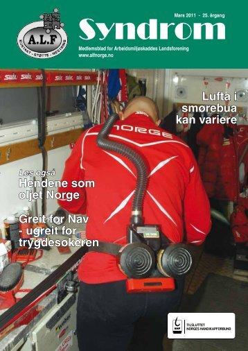 Hendene som oljet Norge - Arbeidsmiljøskaddes landsforening