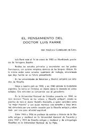 EL PENSAMIENTO DEL DOCTOR LUIS FARRE - Facultad de ...