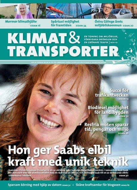 Klimat och transporter 2010 - Miljöfordon Syd