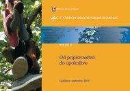 Od pripravništva do upokojitve - Statistični urad Republike Slovenije