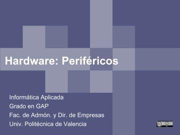 Fundamentos de hardware Periféricos - PoliformaT