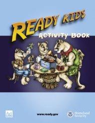 Ready Kids Activity Book - Ready.gov