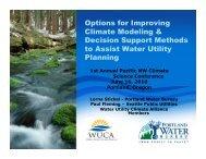 Presentation - Oregon Climate Change Research Institute