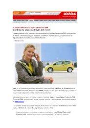 Contrata tu seguro a través del móvil - Ineas
