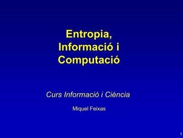 Física de la informació
