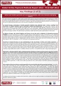 global online payment methods report 2013 - first half ... - yStats.com - Page 3