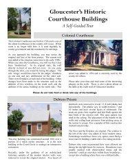 historic court circle - Gloucester County Virginia