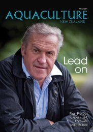 to read the magazine on-line - Aquaculture New Zealand