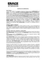 1 CONTRATO DE COMPRAVENTA Señor Notario: Sírvase usted ...
