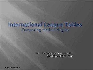 Martin Ince presentation (pdf)