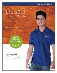 Fall 2012 - Pierce College