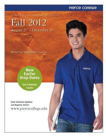 Fall 2012 - Pierce College