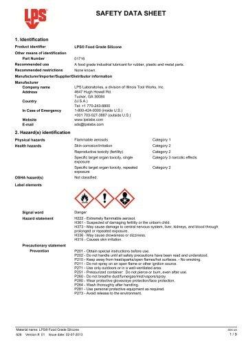 Aerosol - LPS Laboratories