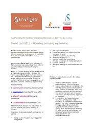 Skriv! Les! 2013 – Utvikling av lesing og skriving - Lesesenteret