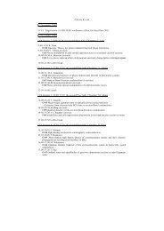 P R O G R A M 13 November 2001 11/13 Registration (15:00-20:00 ...