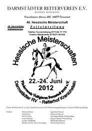 40. Hessische Meisterschaft 2012 22.-24. Juni