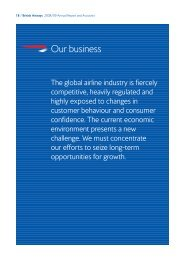 The markets we operate in - British Airways