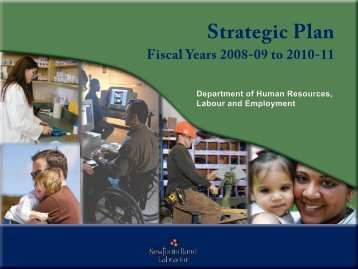 Strategic Plan 2008 - 2011 - Department of Advanced Education ...