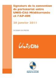 Service civique : partenariat entre UNIS-Cité Méditerranée et l'AP-HM
