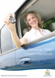 Tasmanian Older Drivers' Handbook - Transport