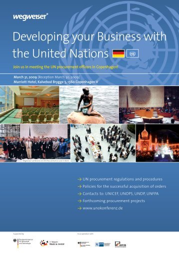 Developing your Business with the United Nations