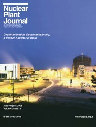 Nuclear Plant Journal - Digital Versions