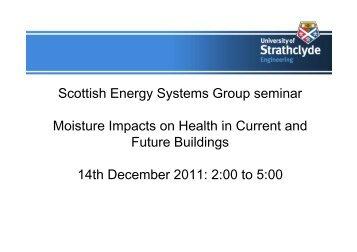Agenda - Scottish Energy Systems Group