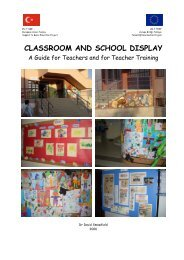 School and Classroom Display Handbook - David Smawfield