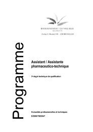 Assistant / Assistante pharmaceutico-technique