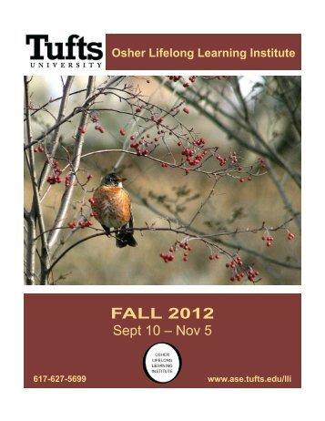 FALL 2012 - Tufts University