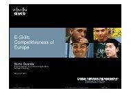 E-Skills Competitiveness of Europe
