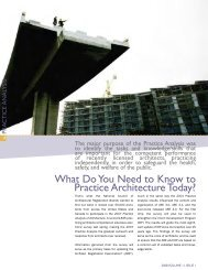 What Do You Need to Know to Practice Architecture Today? - NCARB