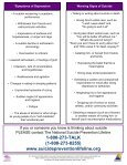 Suicide Prevention Tips for Health Professionals - NC Injury and ... - Page 2