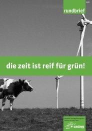 die zeit ist reif für grün! - Grüne Luzern