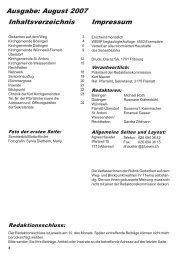 Singen verleiht der Seele Flügel - Kirchgemeinde Wünnewil Flamatt ...