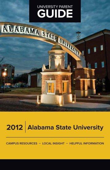 Alabama State University 2012 - University Parent