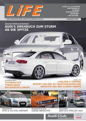 audi's drehbuch zum sturm an die spitze - ACI - Audi Club International