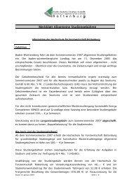 Merkblatt Allgemeine Studiengebühren - Hochschule Rottenburg