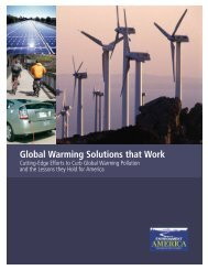 Global Warming Solutions that Work - Environment America