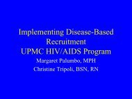 Disease-Based - Office of Clinical Research, Health Sciences