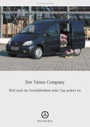 Der Vaneo Company - Mercedes Benz