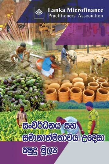 Sinhala - Lanka Microfinance Practitioners