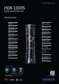 HDR-1000S - HUMAX UK Direct Sales Website - Page 3