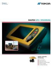 RauPEn GPS+ StEuERunG - Topcon Positioning