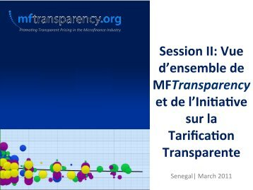 on Transparence - MFTransparency.org